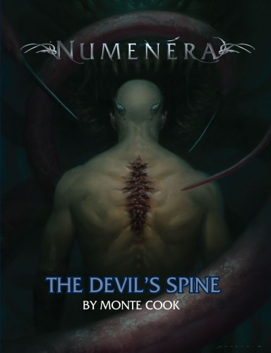 Numenera The Devils Spine -  Monte Cook Games