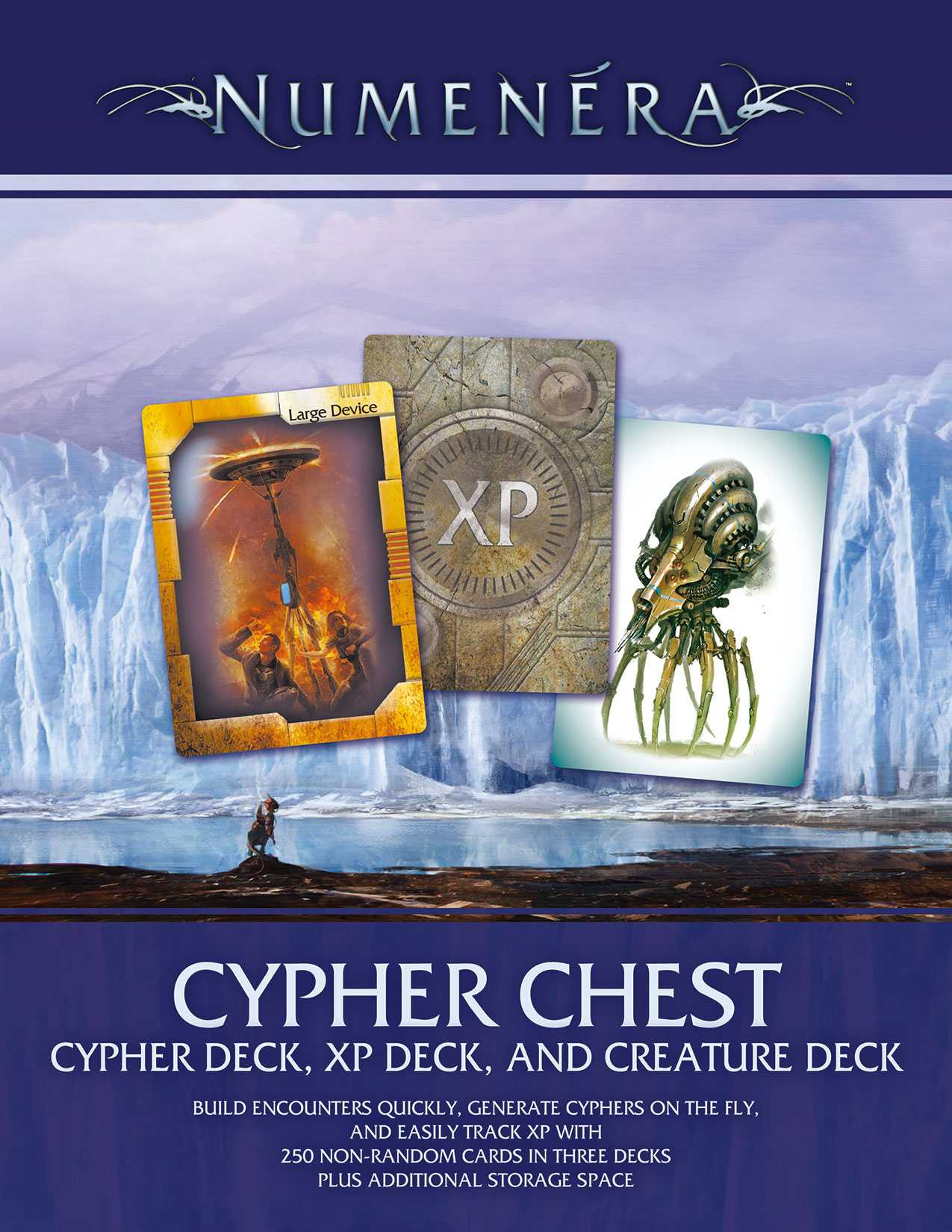 Numenera Cypher Chest -  Monte Cook Games
