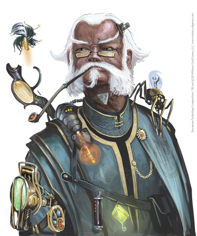 Technology Compendium Sir Arthours Guide to the Numenera -  Monte Cook Games