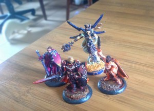 Minis provided and painted by Michael Wenman