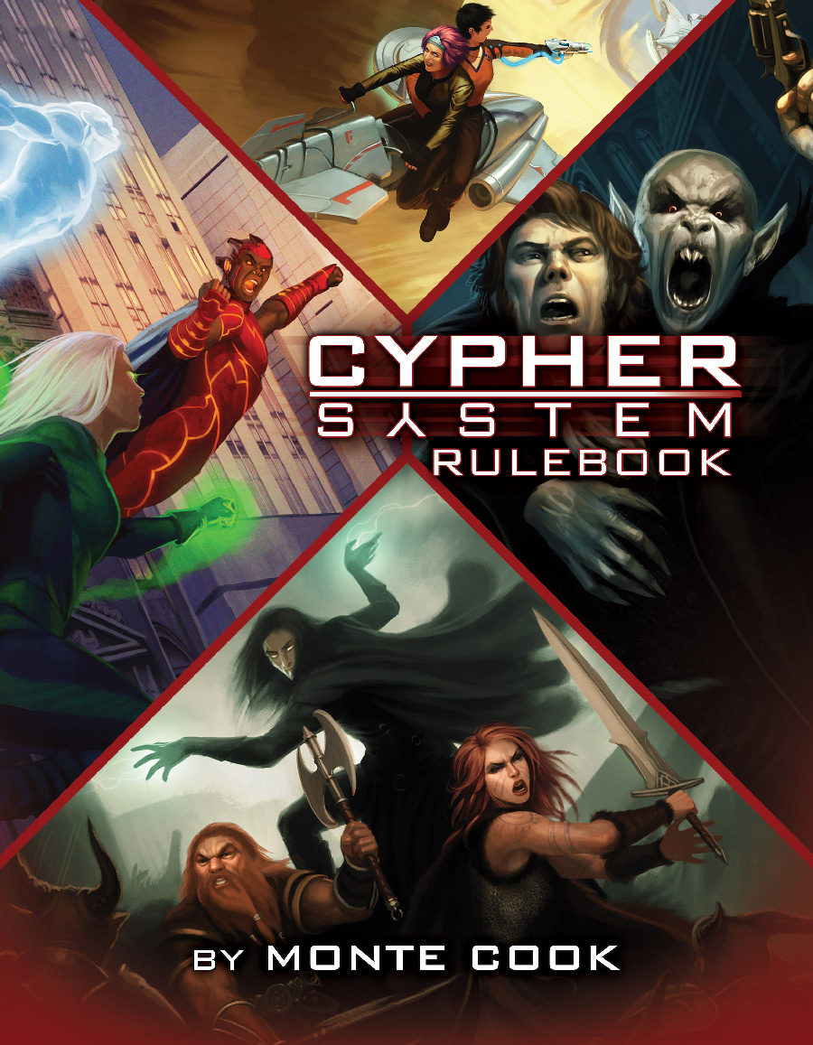 Cypher System RPG Core Book -  Monte Cook Games