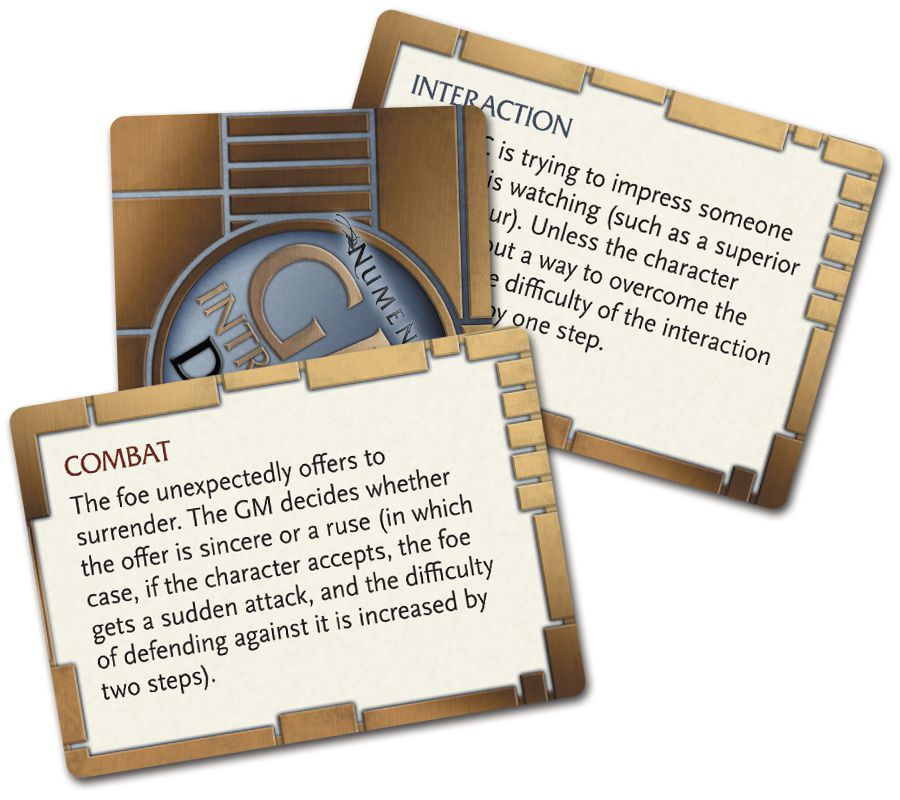 NUM Intrusion Deck Cards
