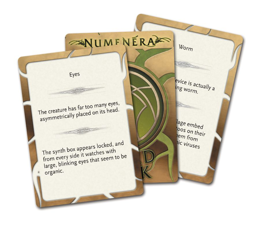 NUM Weird Deck Cards