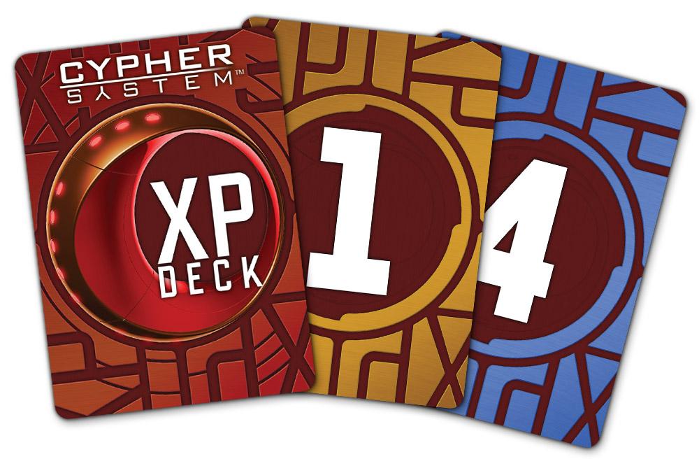 Fan of CSR XP Cards