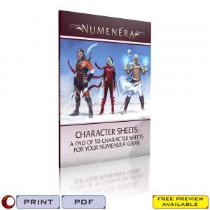 Numenera Character Sheets