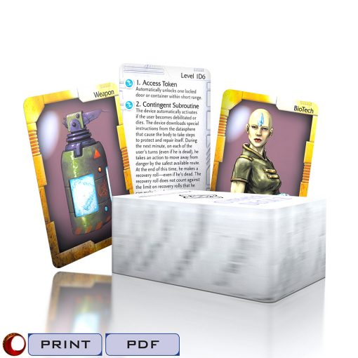 Numenera Cypher Deck 2-Print and PDF