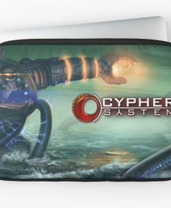 Red Bubble Cypher System Laptop Case 1