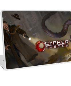 Red Bubble Cypher System Laptop Skin 1
