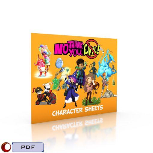 NTYE Character Sheets-3D Cover