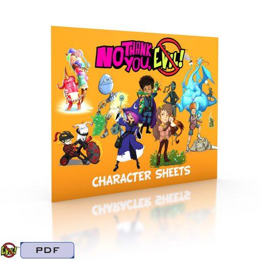 NTYE Character Sheets-Tags