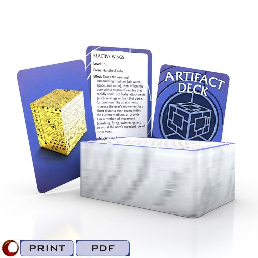 Artifact Deck Cover in 3D