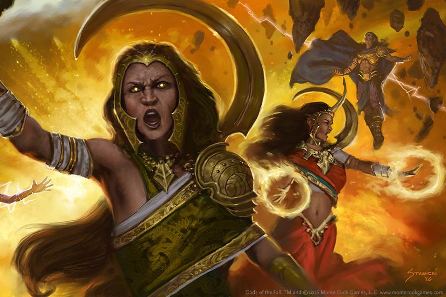 Gods of the Fall KICKSTARTER REWARDS - Monte Cook Games Store
