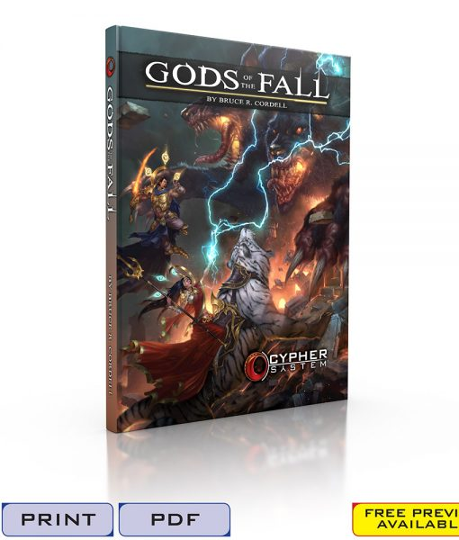 Gods of the Fall-Cover 3D