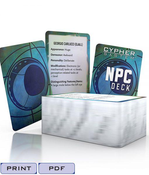 NPC Deck-Tags