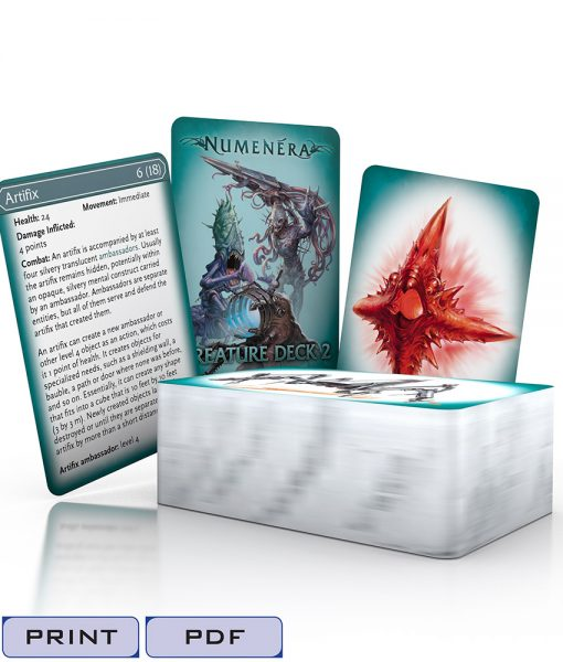 Numenera Creature Deck 2-Tags
