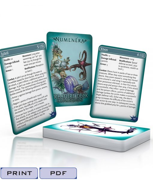 Numenera Creature Deck Expansion-Tags