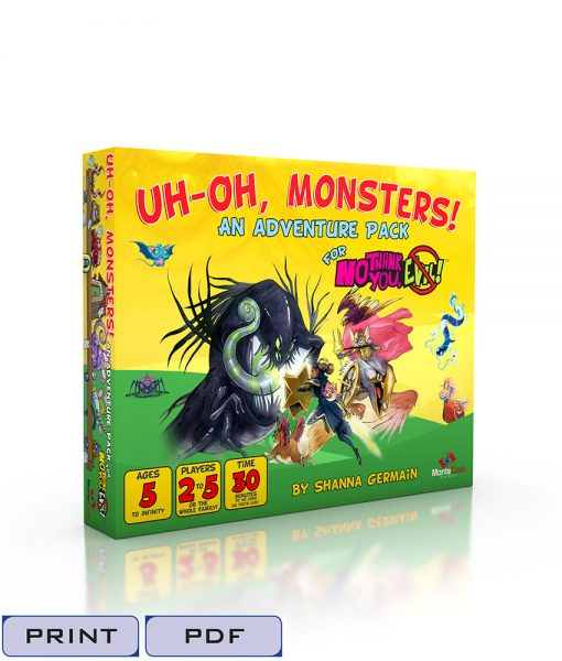 Uh-Oh Monsters-Tags