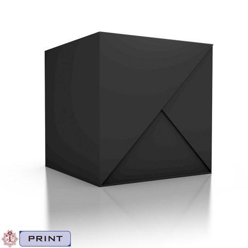 Invisible Sun Black Cube-Tags