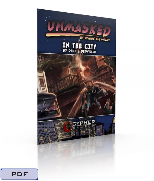 Unmasked Adventure-In the City-Tags