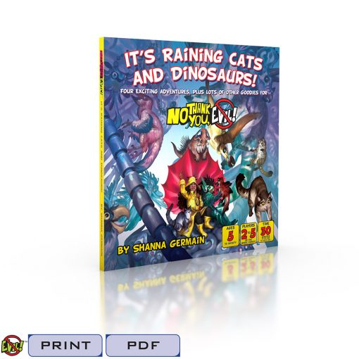 It's Raining Cats and Dinosaurs-Tags