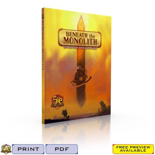 Beneath the Monolith-Tags