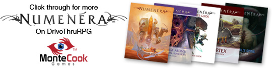 Click through for more Numenera on DriveThruRPG