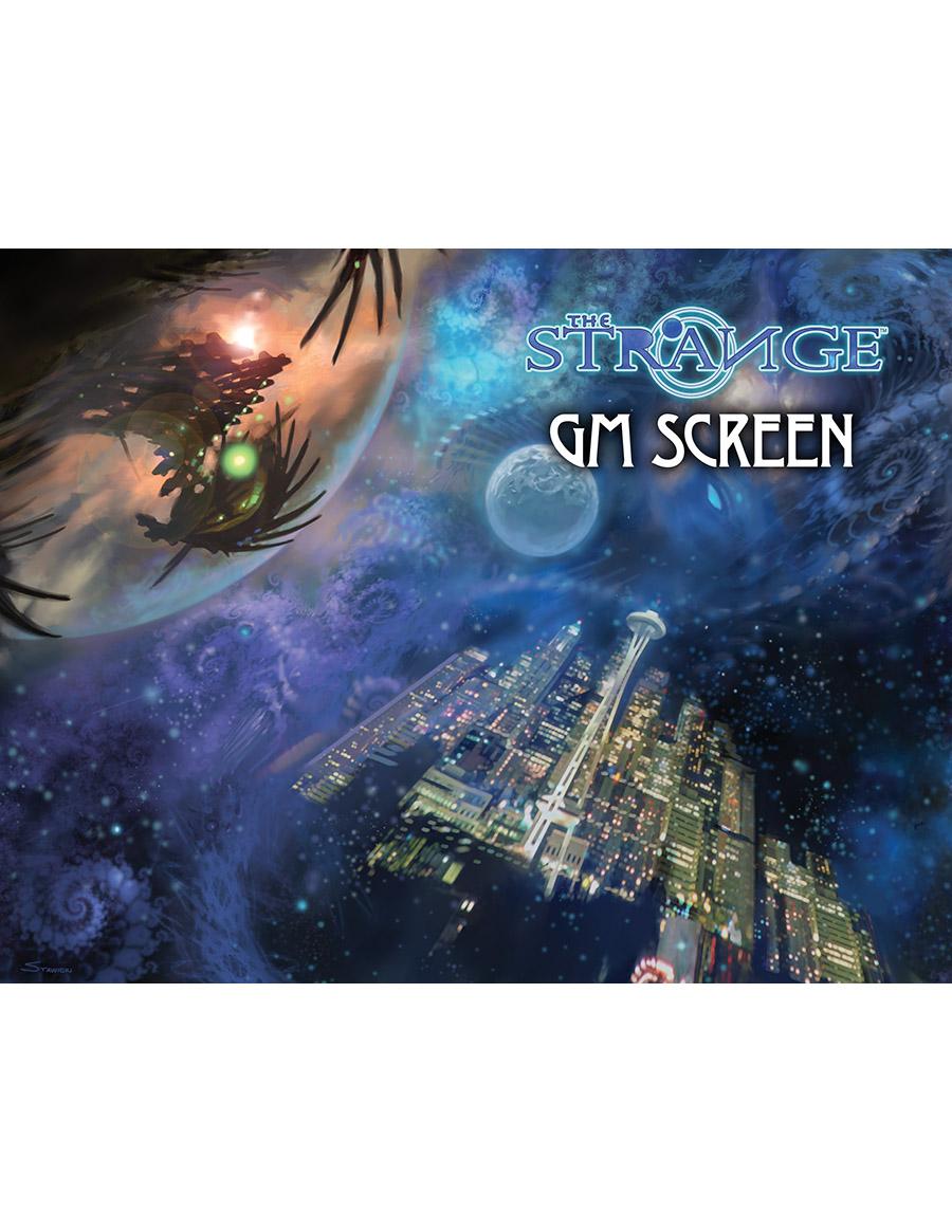 The Strange GM Screen-Cover
