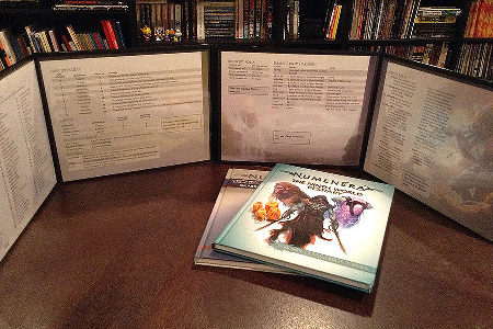 photo relating to Pathfinder Gm Screen Printable identify Numenera GM Show - Monte Cook dinner Game titles Numenera