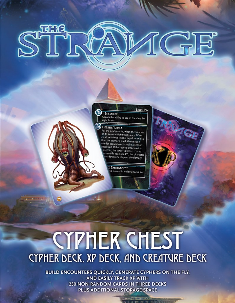 The Strange Cypher Chest Cover