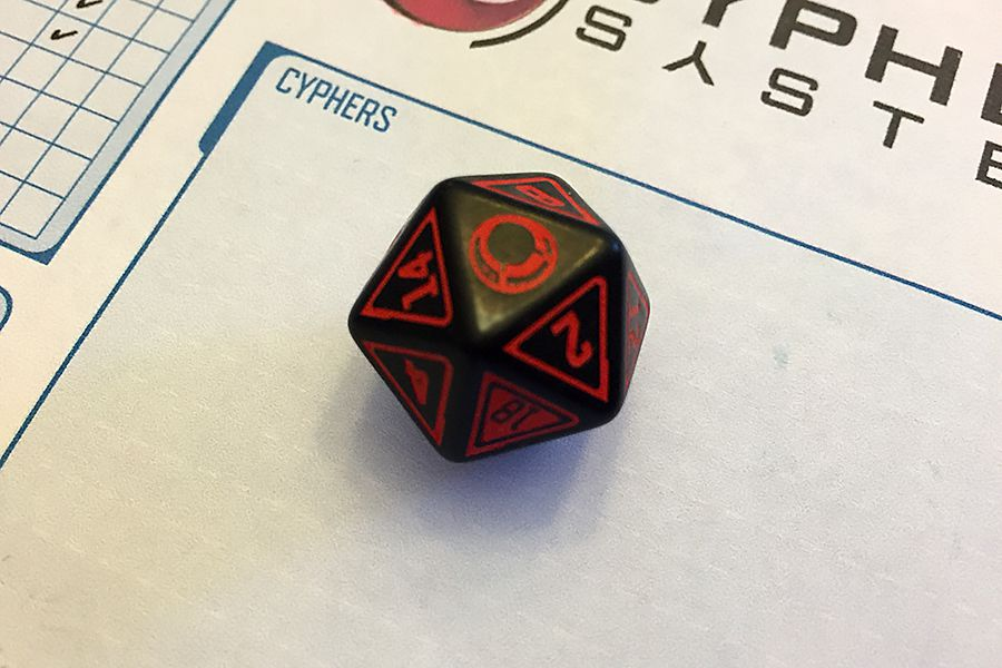 Cypher System Dice Monte Cook Games