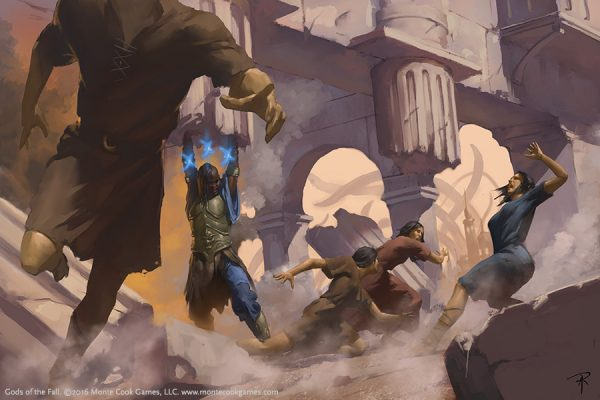 Gods of the Fall 14-Aaron Riley