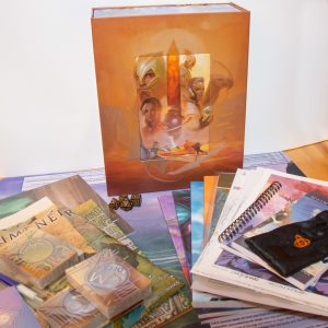 Numenera Box Set, complete with contents