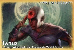 Tanus, a Strong-Willed Jack who Commands Mental Powers