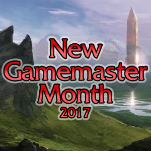 New Gamemaster Month 2017 social media avatar