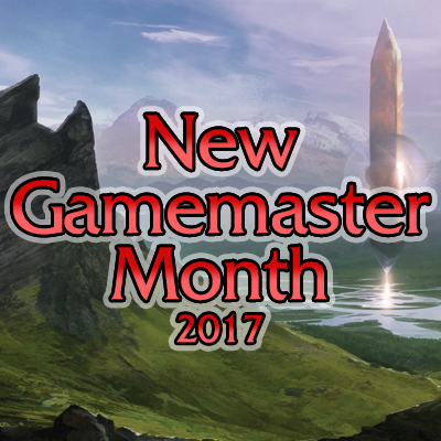 New Gamemaster Month 2017 social media avatar