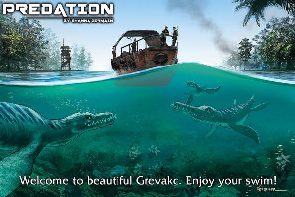 Predation art by John Petersen