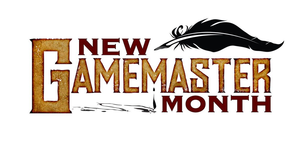 New Gamemaster Month logo