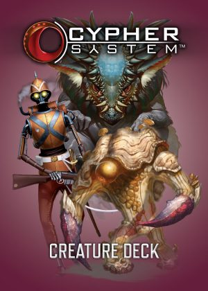 Cypher System Creature Deck - Monte Cook Games