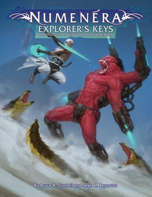 Numenera RPG: Explorers Keys, -  Monte Cook Games