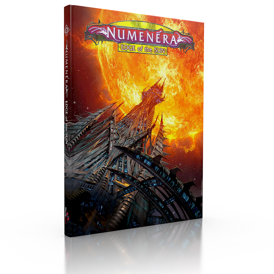 Edge of the Sun, a hardcover sourcebook for Numenera.
