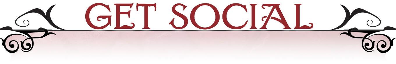 Graphic header: Get Social