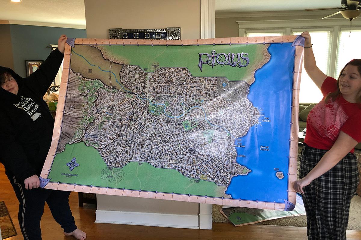 Photo of Ptolus Vinyl Map