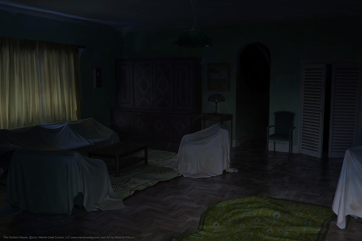 Illustration for The Darkest House