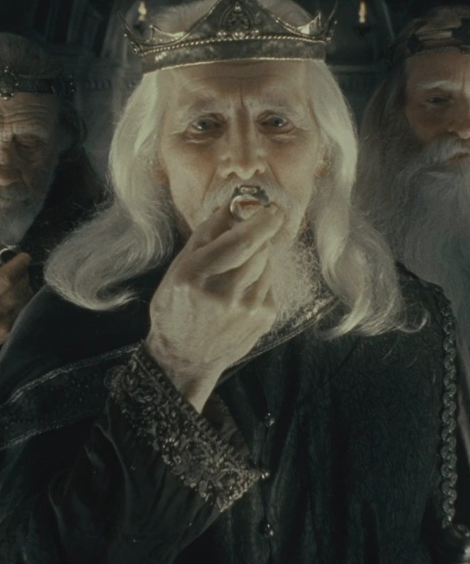 One of the nine rings for men, from the film The Fellowship of the Ring.