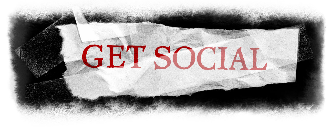 Graphic header: Get Social
