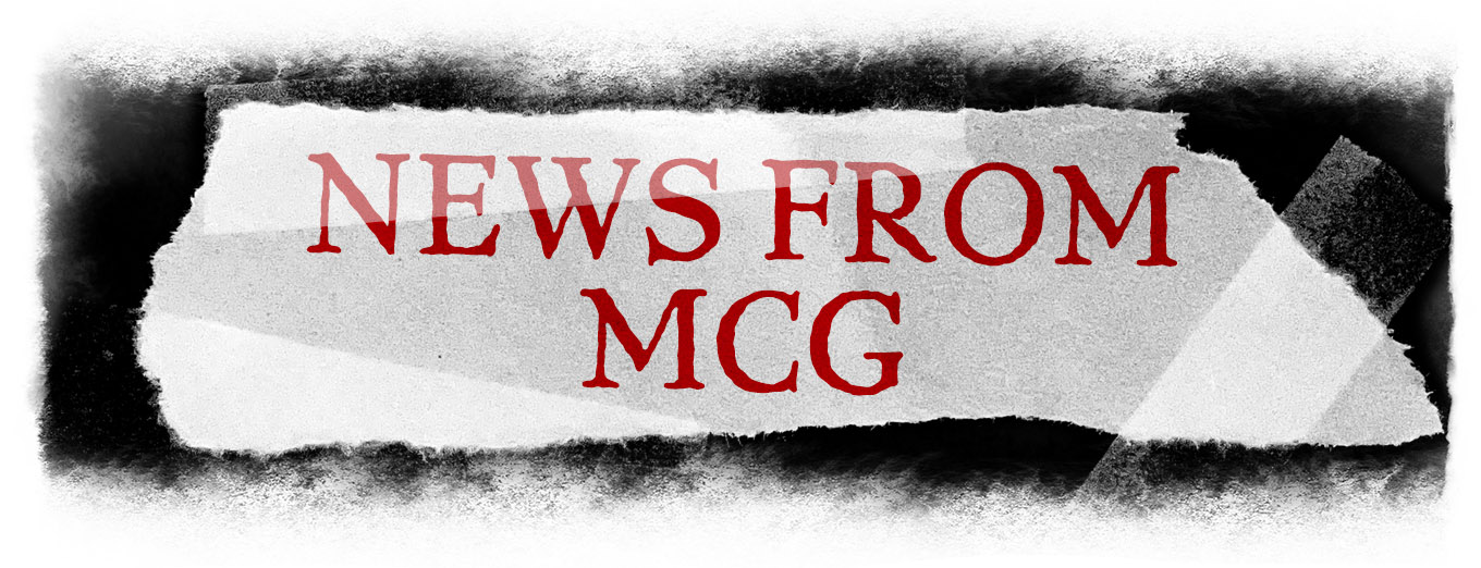 Graphic header: News from MCG