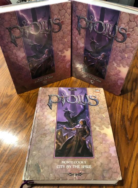 Sean's copies of Ptolus